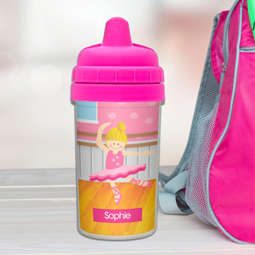 Best Sippy Cup for Baby with Ballerina