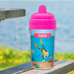 Best cup for 3 year old with scuba design
