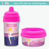 Floating on the Bars Custom Sippy Cups