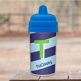 Initial Personalized Baby Sippy Cups