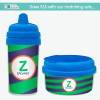 Fun Initials - Green Sippy Cup
