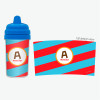 Best Sippy Cup with Fun Initials - Red