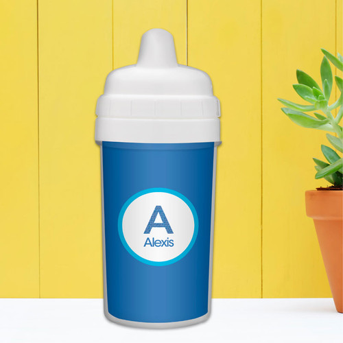 Best Sippy Cup for Baby with A Linen Letter