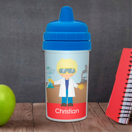 Cool Scientist Boy Sippy Cup