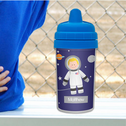 Best Sippy Cup for Milk with Cute Astronaut
