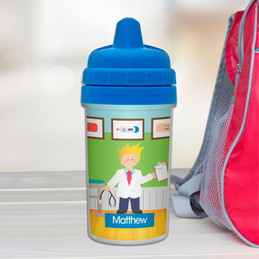 Doctor's Boy Visit Transition Sippy Cup