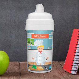 A Chef's Boy Taste Personalized Sippy Cups