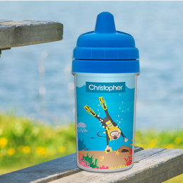 Best Sippy Cup with Scuba Design