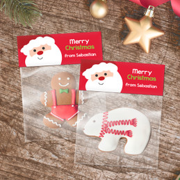 Super Cute Santa Treat Bags