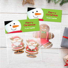 Sweet Snowman Treat Bags
