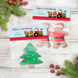 The Xmas Choo Choo Train Treat Bags