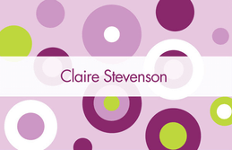Disco Disco Circles Calling Card