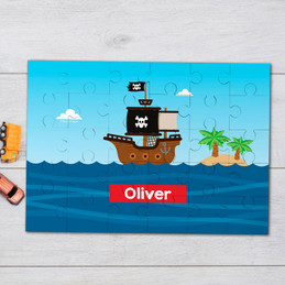 All Aboard Pirates Personalized Puzzles
