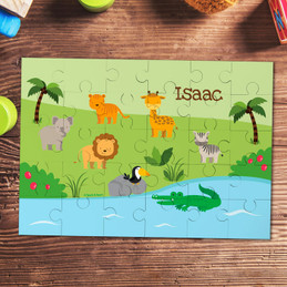 Jungle Fever Personalized Puzzles