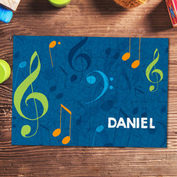 Musical Notes Personalized Puzzles