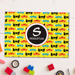Super Hero Masks Personalized Puzzles