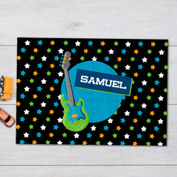 Guitar Sounds Personalized Puzzles