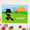 Cool Super Ninja Personalized Puzzles