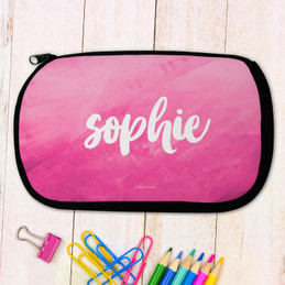 Bold Colorful Name Pencil Case