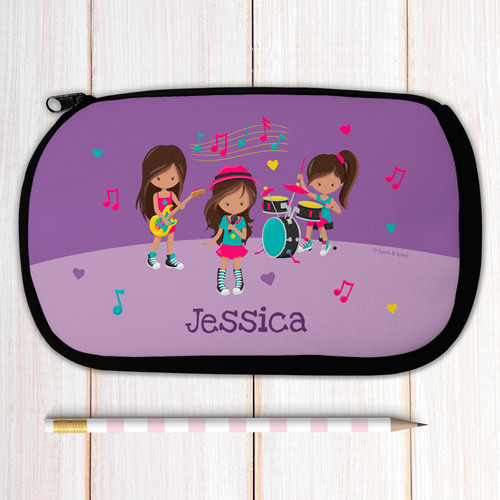 Rock and Roll Band Pencil Case