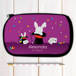 Cute Girl Magician Pencil Case