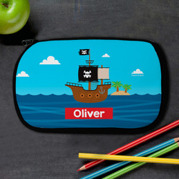 All Aboard Pirates Pencil Case by Spark & Spark
