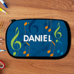 Musical Notes Pencil Case by Spark & Spark