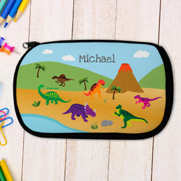 Dinosaur in the Jungle Pencil Case by Spark & Spark