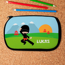 Cool Super Ninja Pencil Case