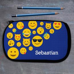 Boy Emojis Pencil Case