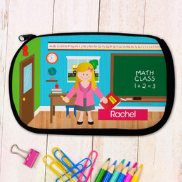 Learning Time Pencil Case