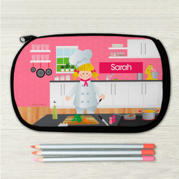 A Girl Chef's Taste Pencil Case