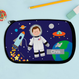 Astronaut To The Moon Pencil Case