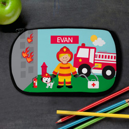 Call A Firefighter Kids Pencil Case