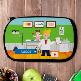 Boy Doctor's Visit Pencil Case