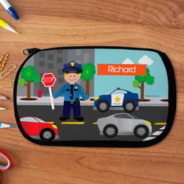 Police On Duty Pencil Case by Spark & Spark