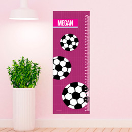 Soccer Fan Girl Growth Chart
