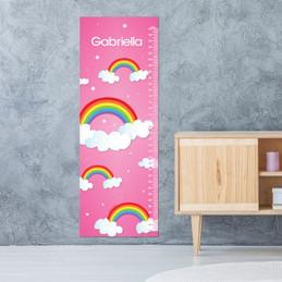 Dreamy Rainbow Growth Chart