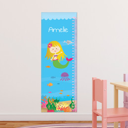 Sweet Mermaid Growth Chart