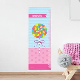 Yummy Lollipop Growth Chart