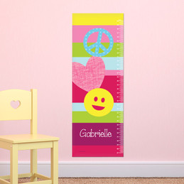 Peace & Love Signs Growth Chart
