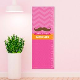 Little Miss Mustach Growth Chart