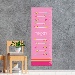 Colorful Arrows Growth Chart