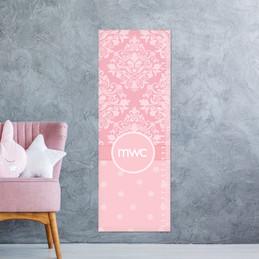 Pink Sweet Damask Growth Chart