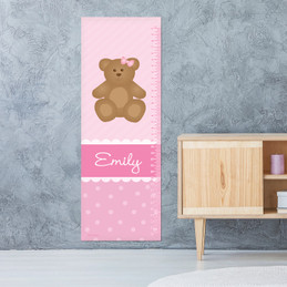 A Sweet Teddy Bear Growth Chart