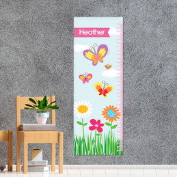 A butterfly field Growth Chart