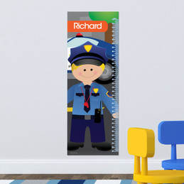 Police On Duty Kids Growth Chart