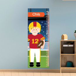 Touchdown Kids Growth Chart