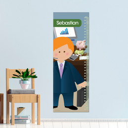 A Business Boy Kids Growth Chart