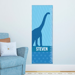 Dino And Me - Blue Growth Chart